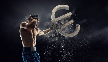Fighting for currency rate Reklamní fotografie
