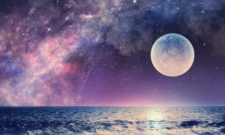 Starry Sky e ombreggiatura misti misti Archivio Fotografico - 83373755