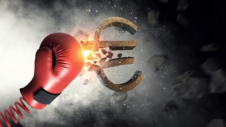 ボクシング グローブの驚き。ミクスト メディア
