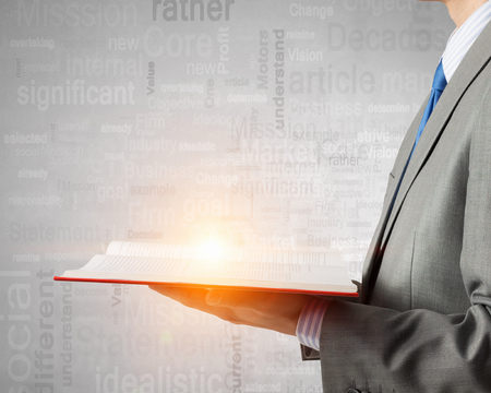 Business and success literature Stock Photo