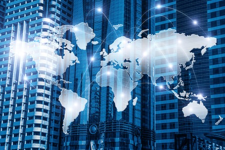 국제 비즈니스 파트너십 혼합 매체 스톡 콘텐츠