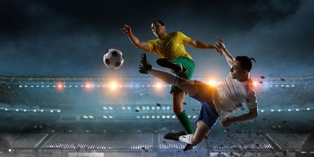 Mejores momentos de fútbol. Medios mixtos