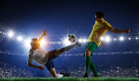 Soccer best moments. Mixed media . Mixed media