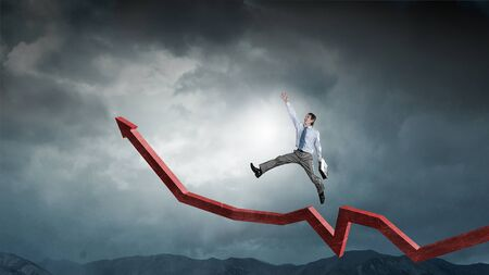 His growth and progress. Mixed media . Mixed media