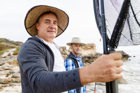 Picture of fisherman Reklamní fotografie - 85810693