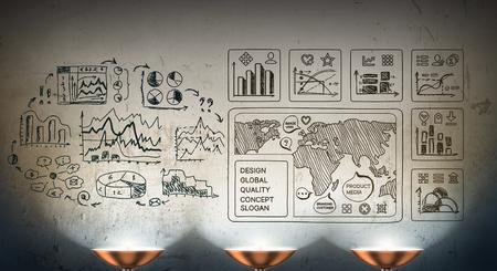 Secret strategy development ideas Banco de Imagens - 87716423