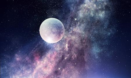 Starry Sky e ombreggiatura misti misti Archivio Fotografico - 88132022