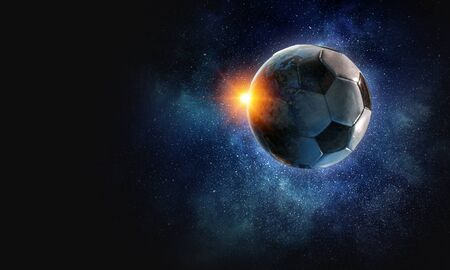 Soccer game concept Reklamní fotografie