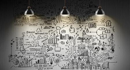 Secret strategy development ideas Banco de Imagens - 88338804