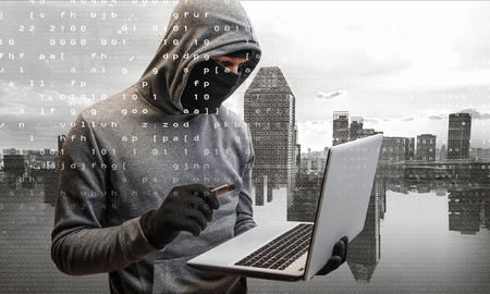 Hacker man stole information