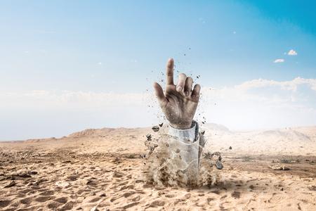 Buried alive but not broken
