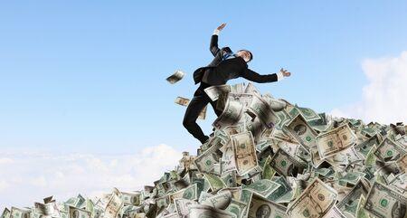 He is a millionaire Фото со стока
