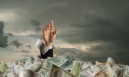 He is a millionaire 免版税图像