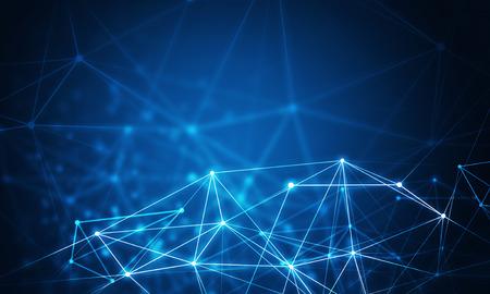 Wireless technology concept 스톡 콘텐츠