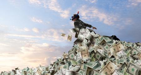 He is a millionaire Фото со стока - 89430587