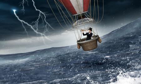 嵐の空気気球