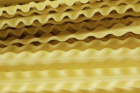 노란색 파스타의 닫기 스톡 콘텐츠