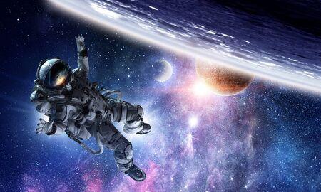 Astronaut in gravity.