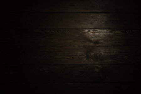 Wooden blank background or texture with spot of light Standard-Bild