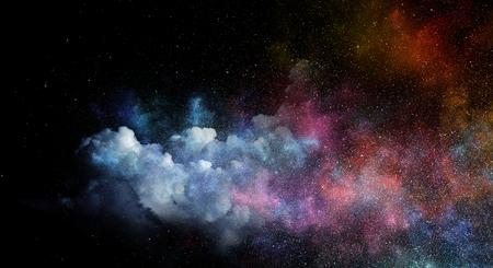 夜空空 写真素材