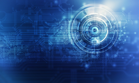 Technology communication concept