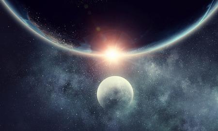 Our unique universe 版權商用圖片
