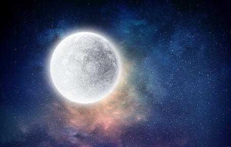 Het is een volle maan
