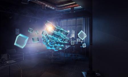 Innovative impressive technologies Фото со стока