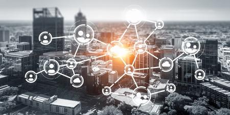 Soziale Verbindung und Vernetzung
