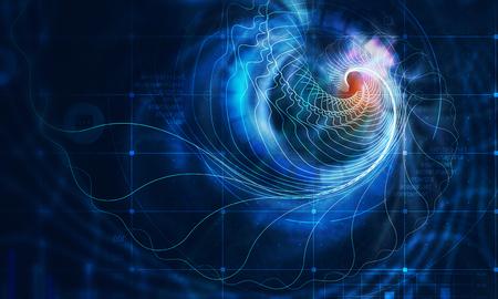 Computer generated background Reklamní fotografie - 106296996