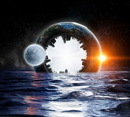 There is another world Stock Photo