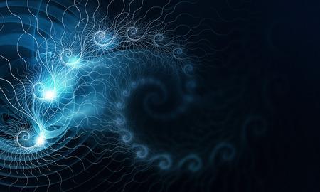 Computergenerierter Hintergrund Standard-Bild