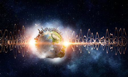 Technology of sound 写真素材