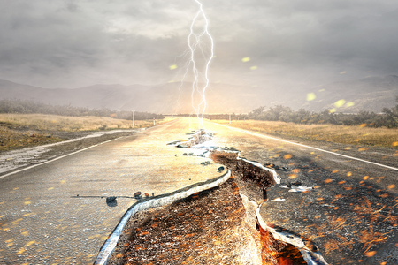 Overcoming crisis break . Mixed media