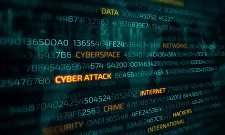 Computer hacking concept Stockfoto