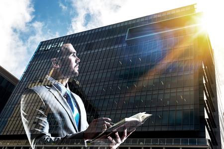 Businessman thinking something over Reklamní fotografie