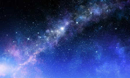 Starry sky in open space Stock Photo - 111050564
