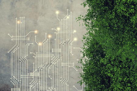 Computer circuit board Stok Fotoğraf