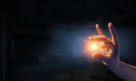 Light of hope Reklamní fotografie