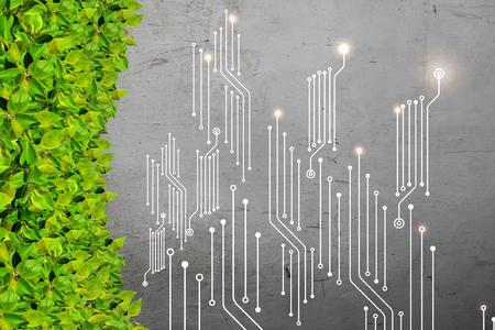 Computer circuit board Banco de Imagens
