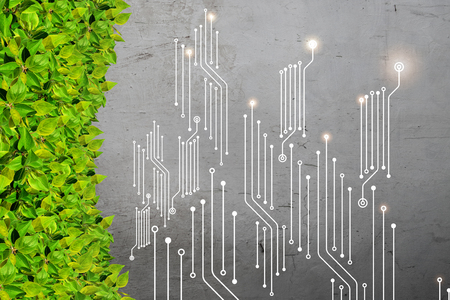 Computer circuit board Imagens