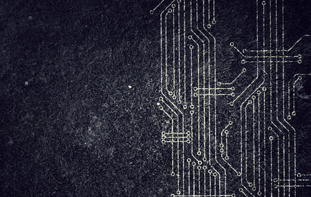 Computer circuit board 스톡 콘텐츠
