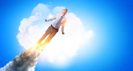 Job promotion concept Stockfoto