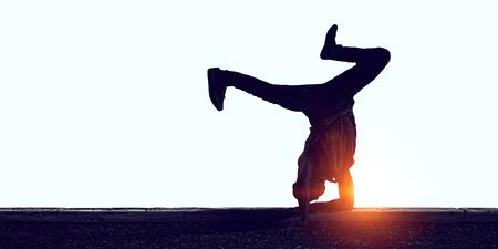 Dance is his life Stok Fotoğraf