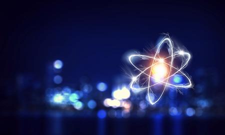 Astronomie-Konzept Hintergrund Standard-Bild
