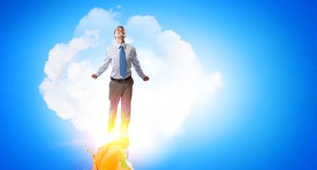 Job promotion concept 版權商用圖片