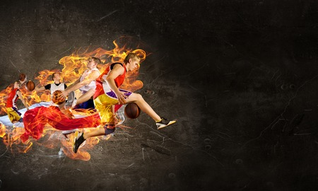 Passion and dynamics of the game Banco de Imagens
