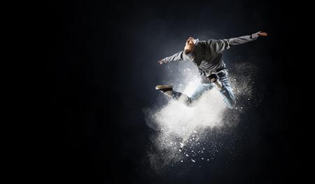 Dance is her passion Banco de Imagens