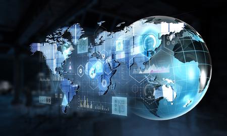 Integration of new technologies. Mixed media