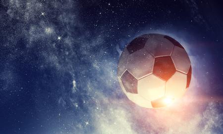 Soccer game concept Stock fotó